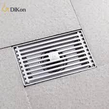 Kitchen Floor Drains Aliexpresscom Buy Dikon 304 Stainless Steel Brushed Bathroom