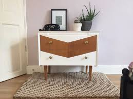 chevron painted furniture. Upcycled Mid Century Chest Of Drawers With Chevron Design (free Local Delivery) | United. FurniturePaint Painted Furniture F