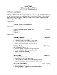 Associate Degree Resume Awesome Career Services Sample Resumes