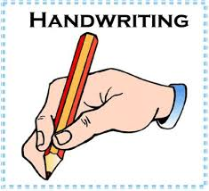 Image result for picture of someone doing handwriting
