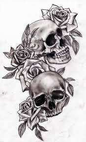 Image Result For Half Butterfly Half Skull Tattoo Hot Tetování