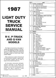 chevrolet v truck wiring diagram auto wiring 1987 chevy truck repair shop manual original pickup blazer on 1987 chevrolet v1 0 truck wiring