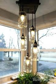 diy kitchen lighting ideas. Kitchen Lighting Ideas Diy Turn Mason Jars Into A Hanging Island N