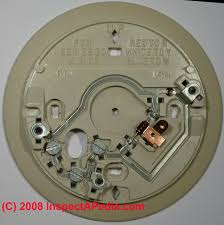guide to wiring connections for room thermostats Honeywell 2 Wire Programmable Thermostat honeywell thermostat backing plate showing wiring connections 2 wire programmable thermostat