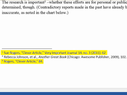 Proper Use Of Footnotes In An Essay
