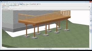 Pro Deck Design How To Edit Deck Posts And Footings In Home Designer Pro 2016