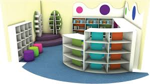 contemporary library furniture. Light And Contemporary Gloss White Primary School Library Design Furniture