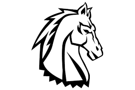 Free, horse, outline, strategy icons. Horse Head Drawing Svg Cut File By Creative Fabrica Crafts Creative Fabrica
