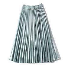 2019 Fashion <b>Long Skirt</b> Summer High Waist Pleated Skirts ...