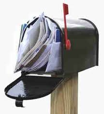 full mailbox. Paper Mail Is No Longer Sitting Around Full Mailbox