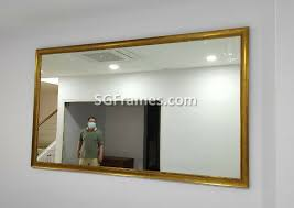 wall mirrors with frame custom size