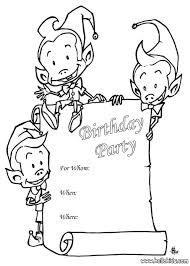 Small Picture Sprite birthday party invitation coloring pages Hellokidscom