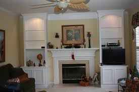 Built In With Fireplace Built In Wall Units Bookcases Shelving Fireplace Mantels