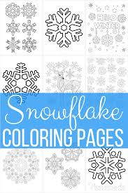 Relax your mind and color them. 101 Best Snowflake Coloring Pages Free Printable Pdf Templates