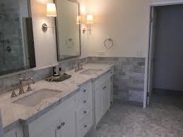 Freestanding Tub Master Bathroom Pacific Palisades Eden Builders - Bathroom vanity remodel