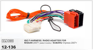 online buy whole subaru radio wiring harness from subaru car radio stereo iso wiring harness adapter for nissan 2007 subaru impreza 2007 auto