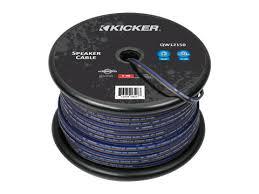 car audio accessories kicker® speaker wire