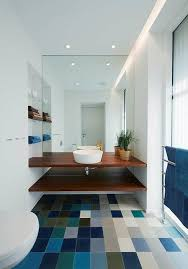 bathroom upgrade. Multi Coloured Bathroom Floor Upgrade