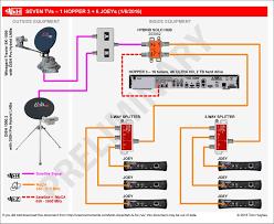wiring diagram of home network save dish hopper joey luxury diy