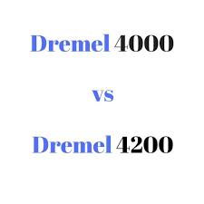 Dremel Tool Comparison Chart Dremel 4000 Vs 4200 Reviews Comparison Chart Buyers