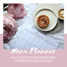 children menu planner free meal planner the style aesthetic