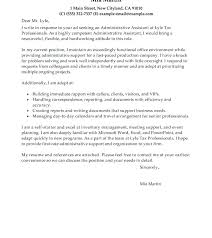Cover Letter Sample Canada Administrative Assistant Cover Letter ...