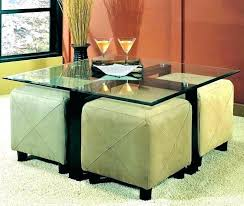 neptune coffee table coffee table with ottomans under round coffee table ottomans underneath round coffee table