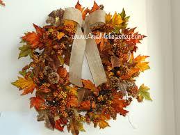 Fall Wreath Fall Wreath Fall Wreaths Autumn Wreaths Front Door Wreaths