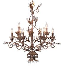 furniture charming antique gold chandelier 20 crystal