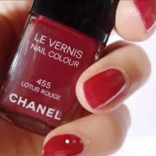 メルカリ Chanelヴェルニ マニキュア 455 Lotus Rouge ネイル