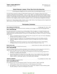 Leasing Agent Job Description Resume