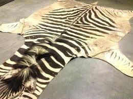 fake animal rug zebra hide rug skin zebra hide rug faux fake zebra skin rug uk