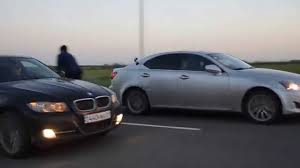 BMW Convertible lexus is350 vs bmw : BMW E90 335i AT vs Lexus IS 350 AT - YouTube