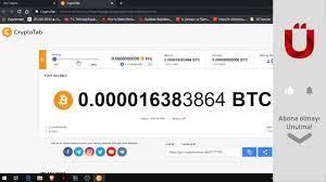 Telefondan Bitcoin Kazandıran Uygulama: Cryptotab Browser Bitcoin Mining  Nedir ? - YouTube