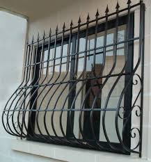 Decorative Security Grilles For Windows The Iron Works Of Newark Security Grilles
