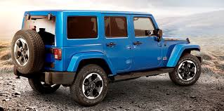 what year did the 4 door jeep wrangler e out colors