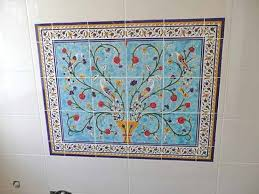 Decorative Wall Tile Murals Bathroom Tile Murals Pacifica Tile Art