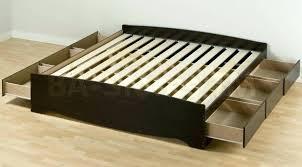 King Size Platform Bed Plans King Size Platform Bed Plans With