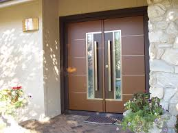 double front doorEuropean double front door  Contemporary  Entry  New York  by