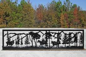 decorative metal fence panels. Decorative Metal Fence Panels Home Depot Design Ideas The O