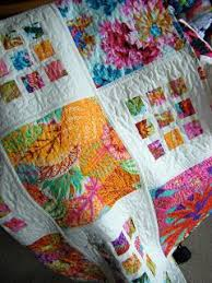 Best 25+ Big block quilts ideas on Pinterest | Easy quilt patterns ... & What a clever way to incorporate large scale prints into a quilt. Some  fabrics are just too pretty to be cut into tiny squares. Adamdwight.com