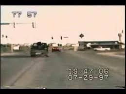 Amazing Car Chase - Truck Obliterated - YouTube