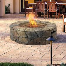 corrugated steel fire pit ring pits unique top types of propane patio with table ing