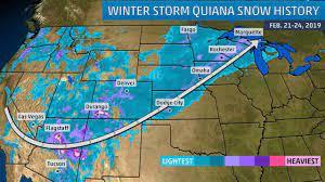 Winter Storm Quiana Brought Snow to Las ...