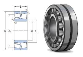 22216e Skf Spherical Roller Bearing With Cylindrical Bore