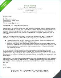 Job Fair Cover Letter Examples Cover Letter Examples For Flight