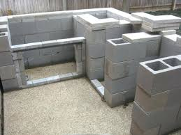 how to build an outdoor kitchen with cinder blocks build a cinder