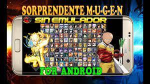 DESCARGA MEGA MUGEN NARUTO VS BLEACH para android apk sin emulador
