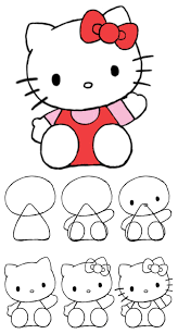 How To Draw Hello Kitty Kitty Drawing Hello Kitty Drawing