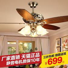 Living Room Ceiling Fan Magnificent Buy 48 European Antique Fan Lights Ceiling Fan Light Konoha American